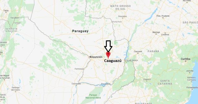 Wo liegt Caaguazú? Wo ist Caaguazú? in welchem land liegt Caaguazú