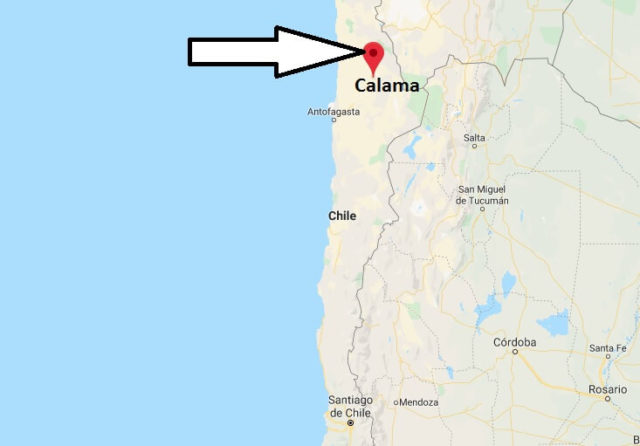 Wo liegt Calama? Wo ist Calama? in welchem land liegt Calama