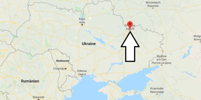 Wo liegt Charkow? Wo ist Charkow? in welchem land liegt Charkow
