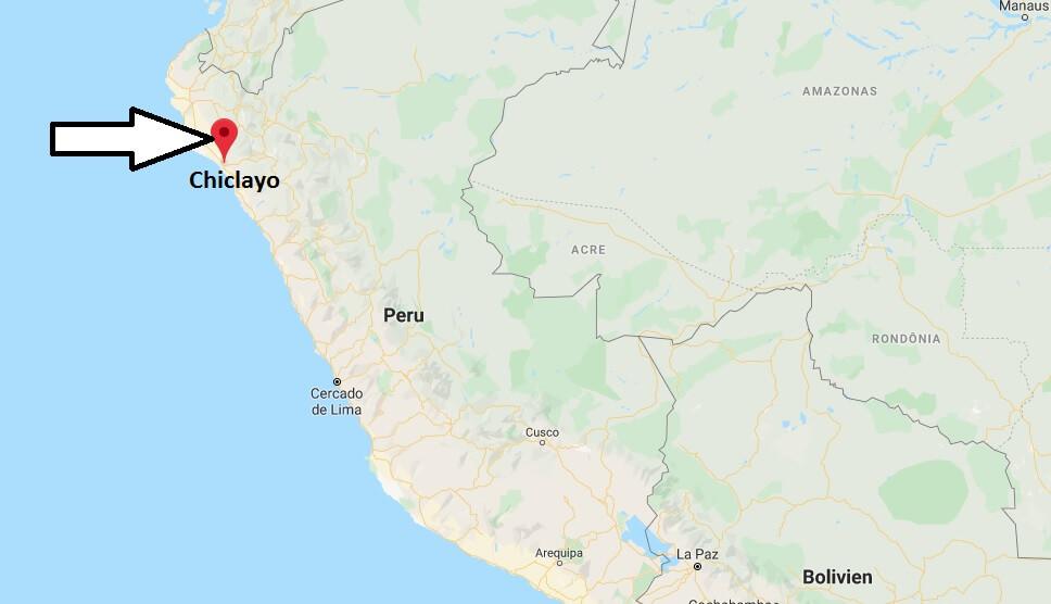 Wo liegt Chiclayo? Wo ist Chiclayo? in welchem land liegt Chiclayo