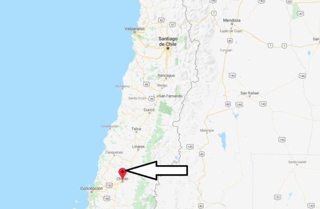 Wo liegt Chillán? Wo ist Chillán? in welchem land liegt Chillán