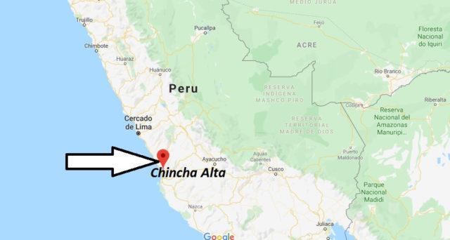 Wo liegt Chincha Alta? Wo ist Chincha Alta? in welchem land liegt Chincha Alta
