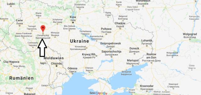 Wo liegt Chmelnyzkyj? Wo ist Chmelnyzkyj? in welchem land liegt Chmelnyzkyj