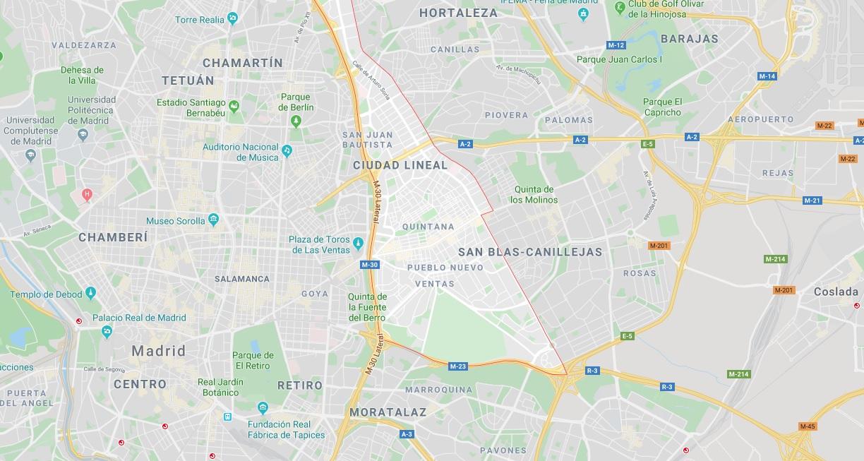 Wo liegt Ciudad Lineal? Wo ist Ciudad Lineal? in welchem land liegt Ciudad Lineal
