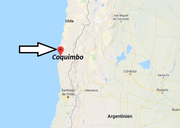 Wo liegt Coquimbo? Wo ist Coquimbo? in welchem land liegt Coquimbo