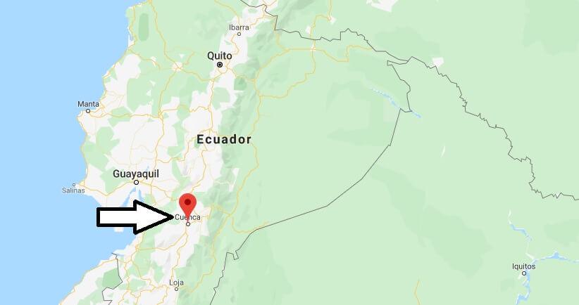 Wo liegt Cuenca (Ecuador)? Wo ist Cuenca? in welchem land liegt Cuenca