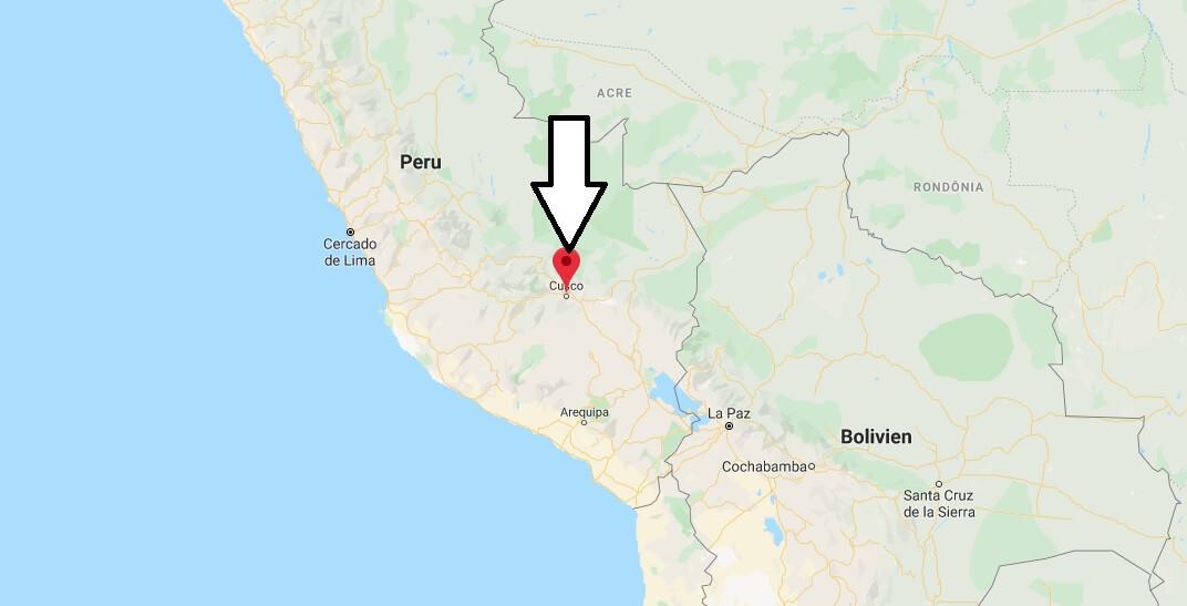 Wo liegt Cusco? Wo ist Cusco? in welchem land liegt Cusco