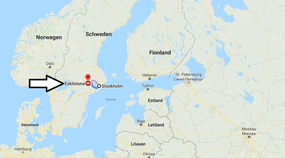 Wo liegt Eskilstuna? Wo ist Eskilstuna? in welchem land liegt Eskilstuna