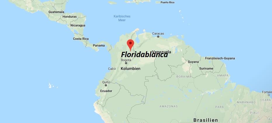 Wo liegt Floridablanca? Wo ist Floridablanca? in welchem land liegt Floridablanca