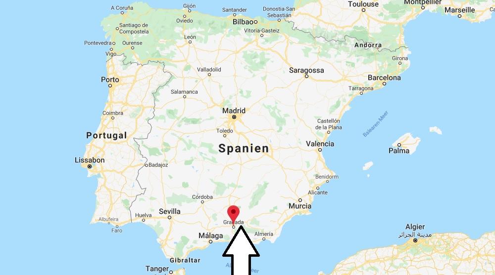 Wo liegt Granada? Wo ist Granada? in welchem land liegt Granada