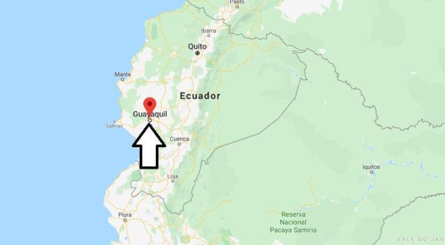 Wo liegt Guayaquil? Wo ist Guayaquil? in welchem land liegt Guayaquil