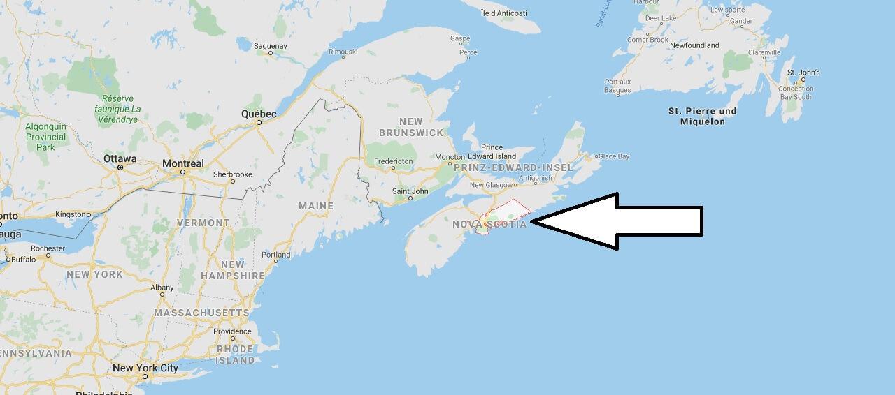 Wo liegt Halifax? Wo ist Halifax? in welchem land liegt Halifax