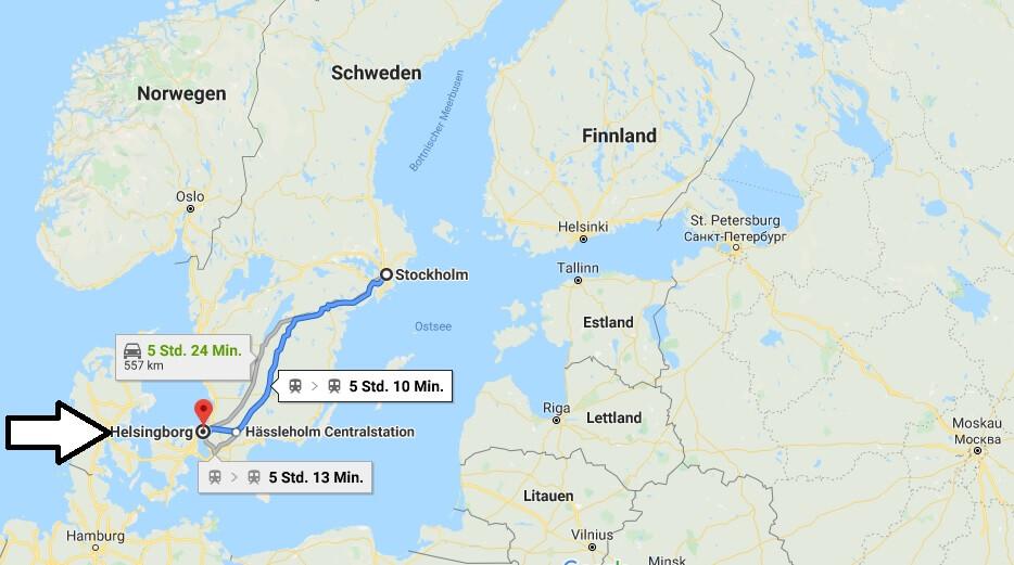 Wo liegt Helsingborg? Wo ist Helsingborg? in welchem land liegt Helsingborg