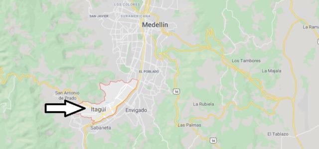 Wo liegt Itagui? Wo ist Itagui? in welchem land liegt Itagui