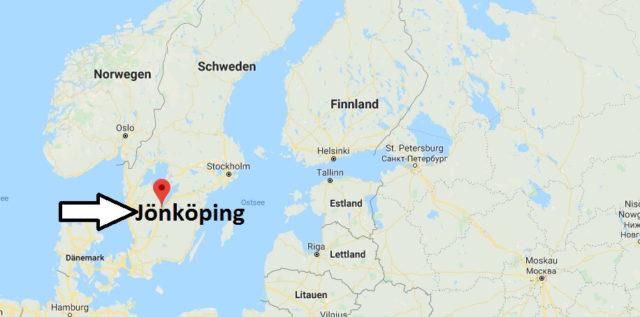 Wo liegt Jönköping? Wo ist Jönköping? in welchem land liegt Jönköping
