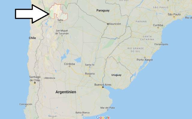 Wo liegt Jujuy? Wo ist Jujuy? in welchem land liegt Jujuy