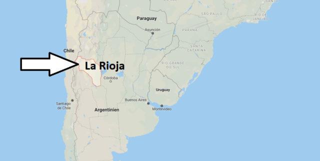 Wo liegt La Rioja? Wo ist La Rioja? in welchem land liegt La Rioja