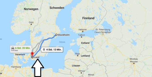 Wo liegt Lund? Wo ist Lund? in welchem land liegt Lund