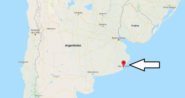 Wo liegt Mar Del Plata? Wo ist Mar Del Plata? in welchem land liegt Mar Del Plata