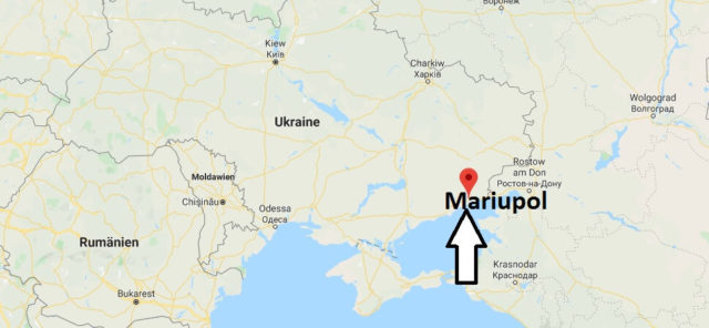 Wo liegt Mariupol? Wo ist Mariupol? in welchem land liegt Mariupol