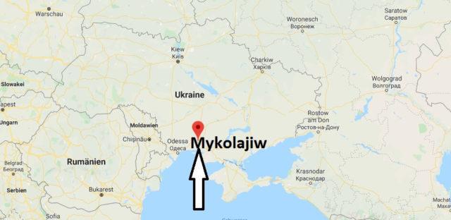 Wo liegt Mykolajiw? Wo ist Mykolajiw? in welchem land liegt Mykolajiw
