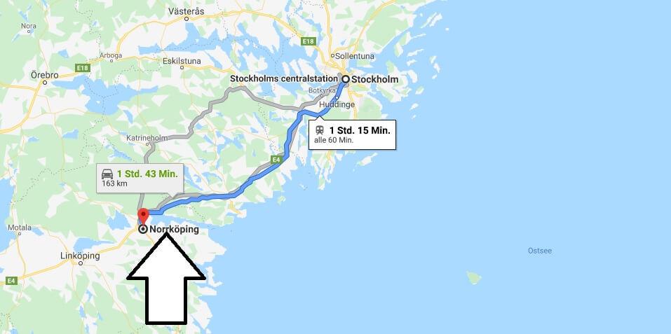 Wo liegt Norrköping? Wo ist Norrköping? in welchem land liegt Norrköping