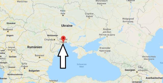 Wo liegt Odessa? Wo ist Odessa? in welchem land liegt Odessa