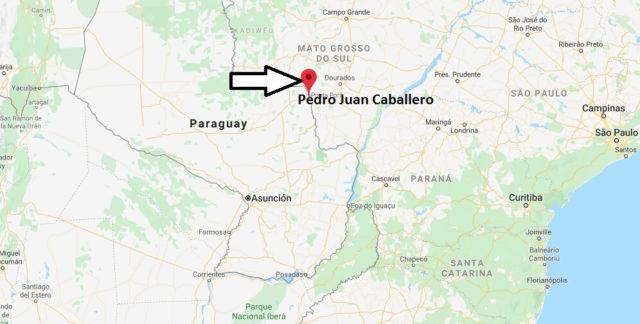 Wo liegt Pedro Juan Caballero? Wo ist Pedro Juan Caballero? in welchem land liegt Pedro Juan Caballero