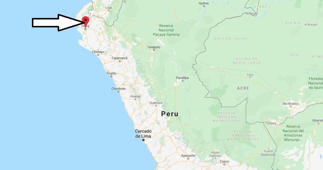 Wo liegt Piura? Wo ist Piura? in welchem land liegt Piura