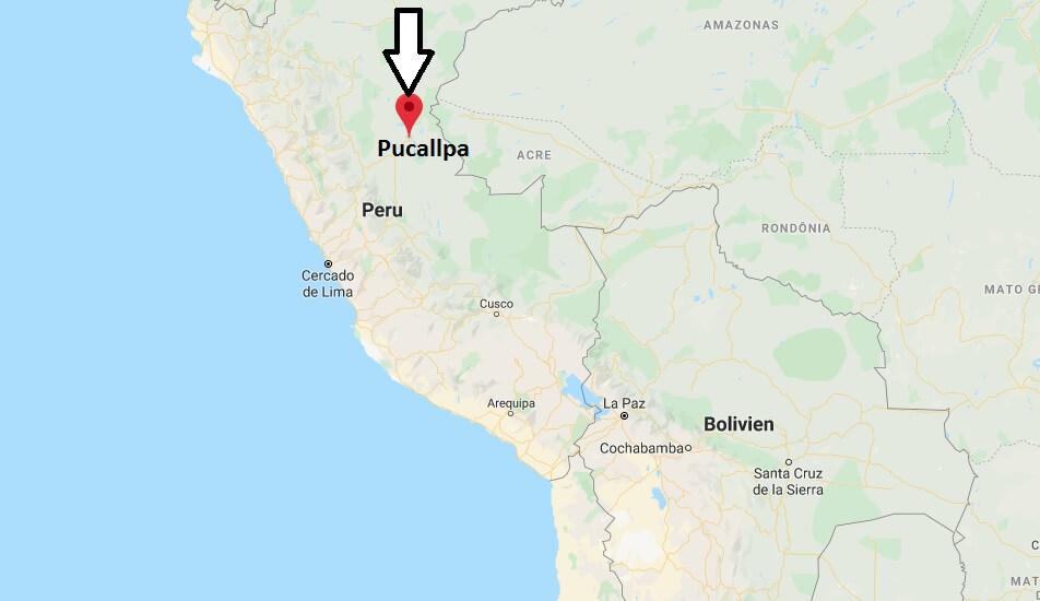 Wo liegt Pucallpa? Wo ist Pucallpa? in welchem land liegt Pucallpa