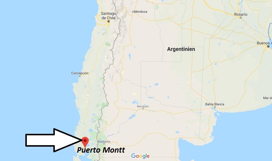 Wo liegt Puerto Montt? Wo ist Puerto Montt? in welchem land liegt Puerto Montt