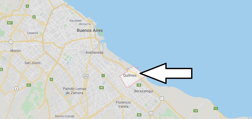 Wo liegt Quilmes? Wo ist Quilmes? in welchem land liegt Quilmes