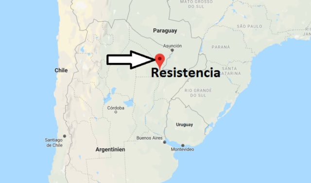 Wo liegt Resistencia? Wo ist Resistencia? in welchem land liegt Resistencia