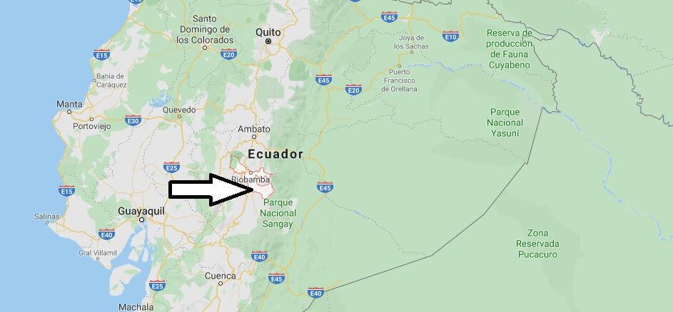 Wo liegt Riobamba? Wo ist Riobamba? in welchem land liegt Riobamba