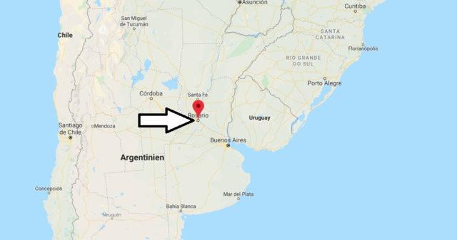 Wo liegt Rosario? Wo ist Rosario? in welchem land liegt Rosario