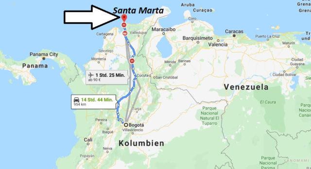 Wo liegt Santa Marta? Wo ist Santa Marta? in welchem land liegt Santa Marta