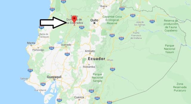 Wo liegt Santo Domingo de los Colorados? Wo ist Santo Domingo de los Colorados? in welchem land liegt Santo Domingo de los Colorados