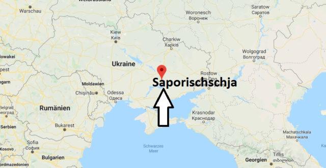 Wo liegt Saporischschja? Wo ist Saporischschja? in welchem land liegt Saporischschja
