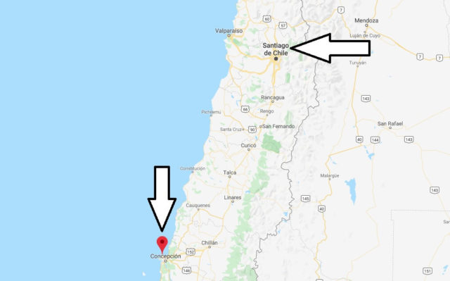 Wo liegt Talcahuano? Wo ist Talcahuano? in welchem land liegt Talcahuano