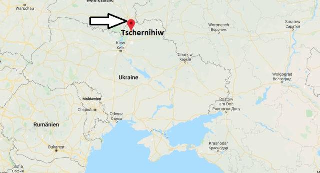 Wo liegt Tschernihiw? Wo ist Tschernihiw? in welchem land liegt Tschernihiw