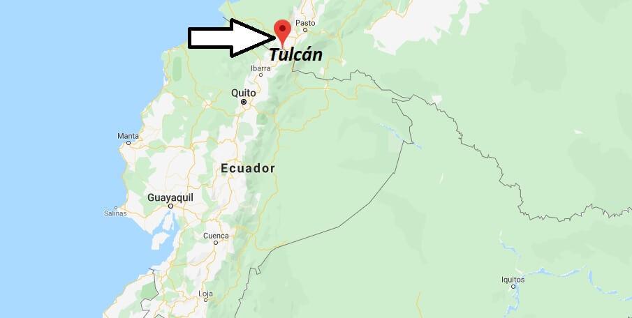Wo liegt Tulcán? Wo ist Tulcán? in welchem land liegt Tulcán