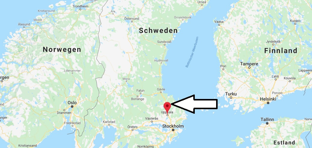 Wo liegt Uppsala? Wo ist Uppsala? in welchem land liegt Uppsala