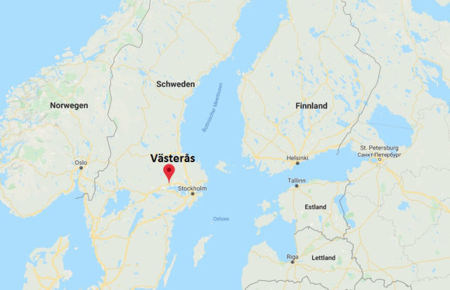 Wo liegt Västerås? Wo ist Västerås? in welchem land liegt Västerås