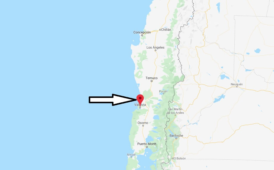 Wo liegt Valdivia? Wo ist Valdivia? in welchem land liegt Osorno