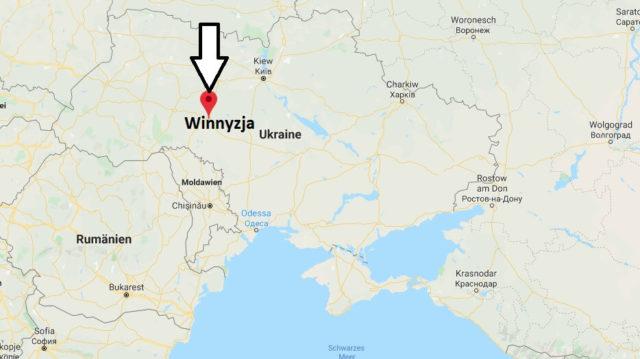 Wo liegt Winnyzja? Wo ist Winnyzja? in welchem land liegt Winnyzja