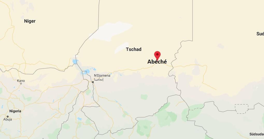 Wo liegt Abéché? Wo ist Abéché? in welchem land liegt Abéché