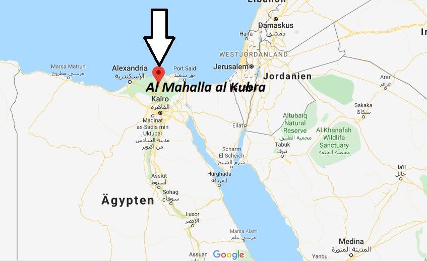 Wo liegt Al Mahalla al Kubra? Wo ist Al Mahalla al Kubra? in welchem land liegt Al Mahalla al Kubra