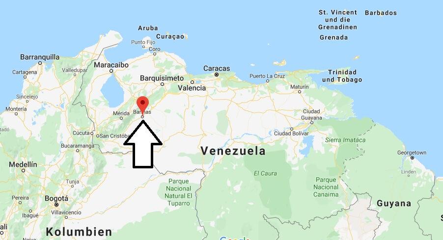 Wo liegt Alto Barinas? Wo ist Alto Barinas? in welchem land liegt Alto Barinas