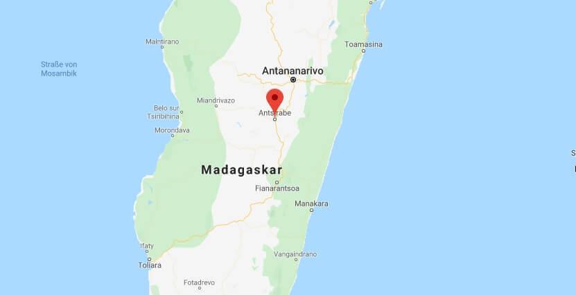 Wo liegt Fianarantsoa? Wo ist Fianarantsoa? in welchem land liegt Fianarantsoa