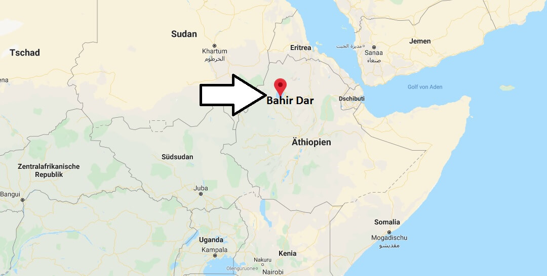 Wo liegt Bahir Dar? Wo ist Bahir Dar? in welchem land liegt Bahir Dar